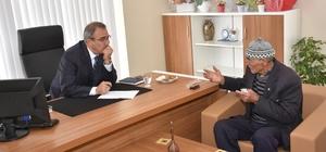 Başkan Karaçoban tüm gününü vatandaşlara ayırdı