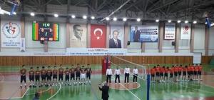 Nevşehir'de A Genç Erkekler Voleybol Turnuvası sona erdi