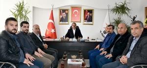 Gazeteciler Başkan Yeni'yle bir araya geldi