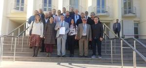 AK Parti Bodrum İlçe Başkanı mazbatasını aldı