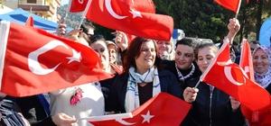 eniköy'ün 30 yıllık su sorununu çözen Başkan Çerçioğlu'na büyük ilgi