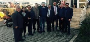 K Parti İlçe Başkanı Acar mazbatasını aldı
