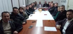 AK Parti Kozlu ilçe teşkilatında görev dağılımı yapıldı