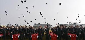 Afyonkarahisar Polis Meslek Eğitim Merkezi mezuniyet töreni düzenlendi