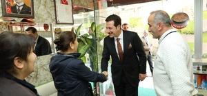 Başkan Tok'un Ağabali Caddesi gezisi