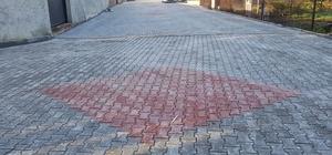 Kurtköy ve Çayiçi Mahallelerinde parke yol çalışması
