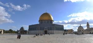 Yeşilyurt Belediyesinden Kudüs'e tarihi ziyaret