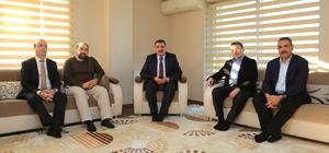 Başkan Gürkan Hayat Vakfını ziyaret etti