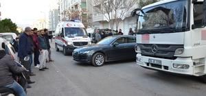 Milas'ta hatalı park kazaya neden oldu