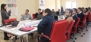 Erciyes Teknopark'ta Erasmus fonları eğitimi düzenlendi