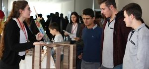 Nevşehir Hacı Bektaş Veli Üniversitesi öğrenciler bilim fuarı açtı