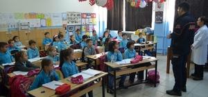 Öğrencilere afet ve acil durum eğitimi