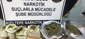 Kızıltepe'de 7 kilo 200 gram esrar ele geçirildi