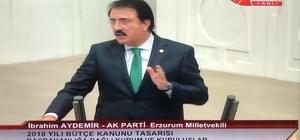 Aydemir'den TBMM'de Erzurum tarifi