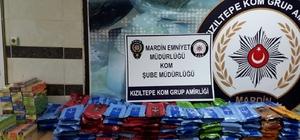 Kızıltepe'de 266 gram kaçak tütün ele geçirildi