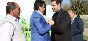 Başkan Gülenç köy ziyaretlerini sürdürüyor
