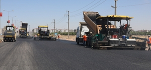 Büyükşehir Belediyesi 560 bin ton asfalt serdi