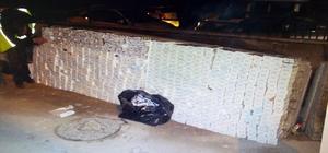 Kargo yüklü tırda binlerce paket kaçak sigara ve tütün yakalandı
