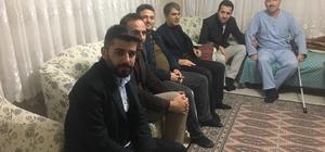 AK Parti Merkez İlçe Teşkilatı'ndan hasta ziyareti