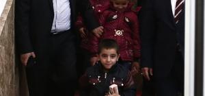 DEAŞ'ın kaçırdığı 3 çocuk Gaziantep'e getirildi