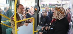 Vatandaşın sorununu otobüste dinleyecekler