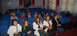 """Malkara'da """"kadına şiddet"""" konulu seminer"""
