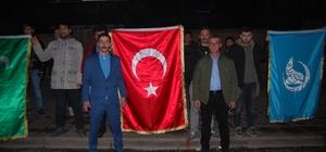 """Malkara Ülkü Ocakları Başkanı Ihlamur: """"Filistinli kardeşlerimizin yanındayız"""""""