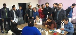Pertekspor'lu futbolcular, özel çocuklarla bir araya geldi