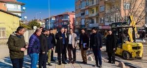 Başkan Çakır düzenleme çalışmalarını yerinde inceledi