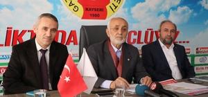 Kayseri Gönüllü Kültür Kuruluşları Platformu Başkanı Ahmet Taş: