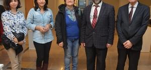 ESOGÜ'de Karma Heykel Sergisi açıldı