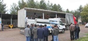 Kulp'ta 2 bin 575 adet ceviz fidanı dağıtıldı