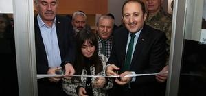 """Vali Ali Hamza Pehlivan, """"Taşa Hayat Veren Eller Projesi"""" açılış törenine katıldı"""