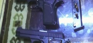 Üzerlerinde ruhsatsız tabanca ele geçirilen 2 şahıs tutuklandı