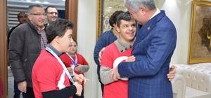 Engelli sporculardan büyük başarı