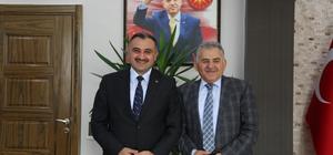 Başkan Büyükkılıç Başkan Cabbar'ı ziyaret etti