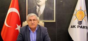 """K Parti İl Başkanı Ertürk, """"İndirimi ASKİ değil, TBMM yaptı"""""""