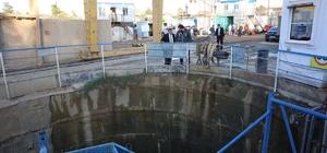 Başkan Karabacak, arıtma tesisini inceledi