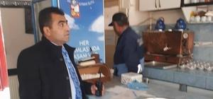Sungurlu'da kahvehaneler denetlendi