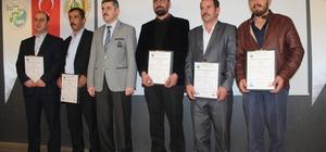 Kastamonu'da 54 üyeye 'Orman Üretim İşçisi Belgesi' verildi