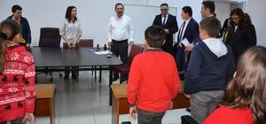 Başkan Uysal, Çocuk Meclisi ilk toplantısına katıldı