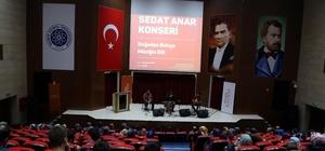 Santuri Sedat Anar Tekirdağ'da konser verdi