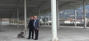 İskenderun'a modern kapalı semt pazarları yapılıyor