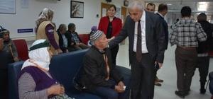 Vali Güvençer Selendi'de incelemelerde bulundu