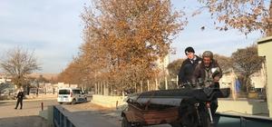 Gaziantep'te güvenlik bariyeri hırsızlığı
