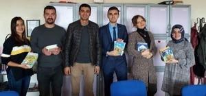 Halk Eğitim Merkezi Müdürlüğü'nden kitap yardımı