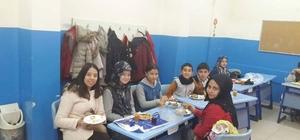 Çavdarhisar Ortaokulu öğrencileri Yerli Malı Haftası'nı kutladı