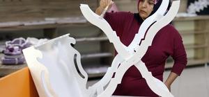 Van Büyükşehir Belediyesinden kadınlara el sanatı desteği