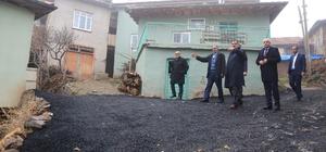Başkan Gürkan asfalt çalışmalarını yerinde inceledi