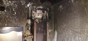 Taşlıçay'da yangın korkuttu